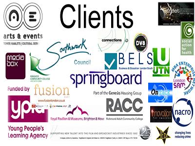 Previous clients list